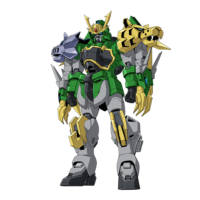 XXXG-01S2龍虎狼 ガンダムジーエンアルトロン [Gundam Jiyan Altron]