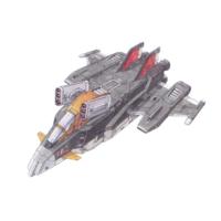 G-FIGHTER Gファイター宇宙型 [G-Fighter Space Type]