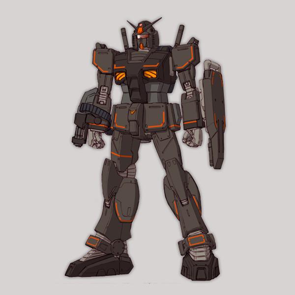 RX-78-01[FSD] ガンダムFSD[北米戦線仕様機]《THE ORIGIN》