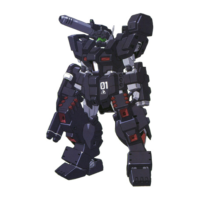 RGM-86RF ジムIIIパワードFA〈ブルドック〉 [GM III Powered Full Armor <Bulldog>]