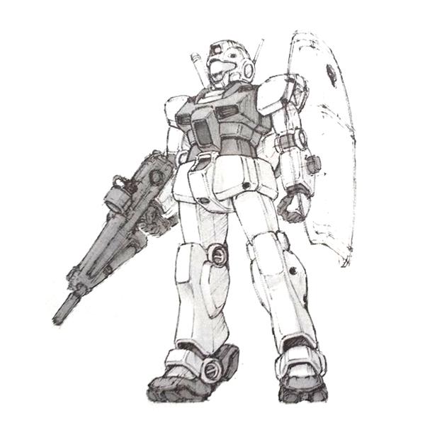 RGM-79GS ジム・コマンド(外宇宙戦仕様)