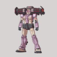 RGM-79KC ジム・インターセプトカスタム(フェロウ・ブースター装備型) [GM Intercept Custom with Fellow Booster]《THE ORIGIN》