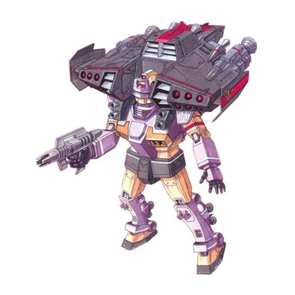 RGM-79KC ジム・インターセプトカスタム(フェロウ・ブースター装備型) [GM Intercept Custom with Fellow Booster]
