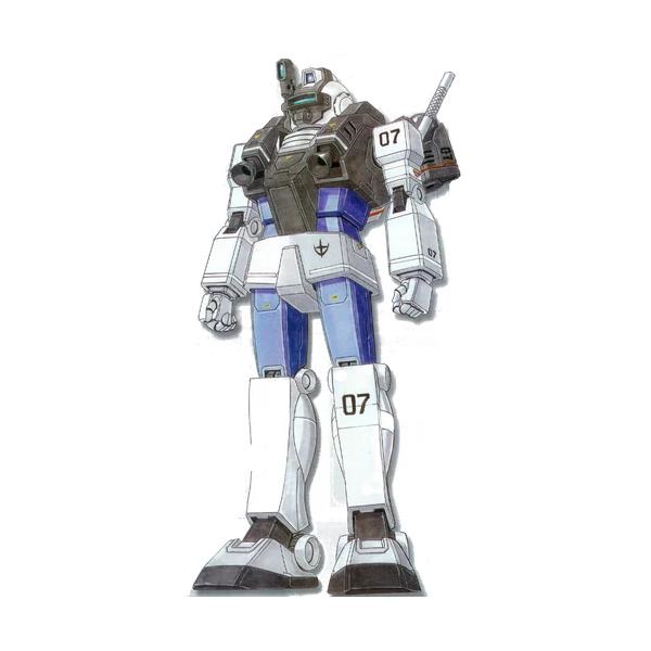RGM-79LV ジム・ナイトシーカーII [GM Night Seeker II]