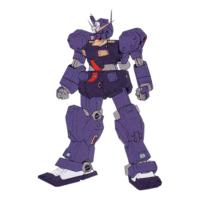 RGM-79Q ジム・クゥエル(ヘイズル予備機・テストカラー) [GM Quel (Hazel Reserve Unit Test Color)]