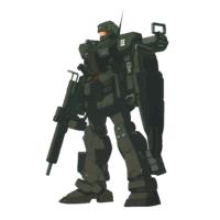 RGM-79CA ジム・レイド [シャドウズ仕様機]
