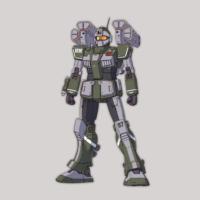 RGM-79SC ジム・スナイパーカスタム(ミサイルランチャー装備) [GM Sniper Custom] 《THE ORIGIN》