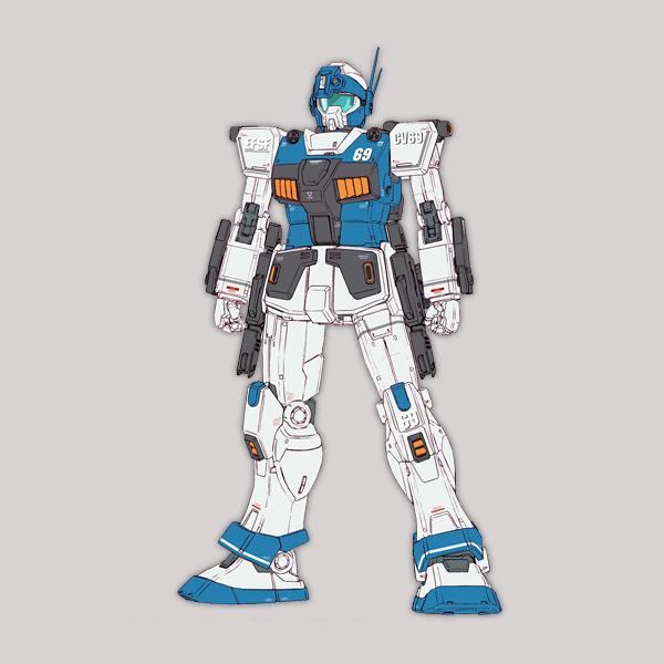 RGM-79HC ジム・ガードカスタム(E-2ビーム・スプレーガン装備) [GM Guard Custom] 《THE ORIGIN》
