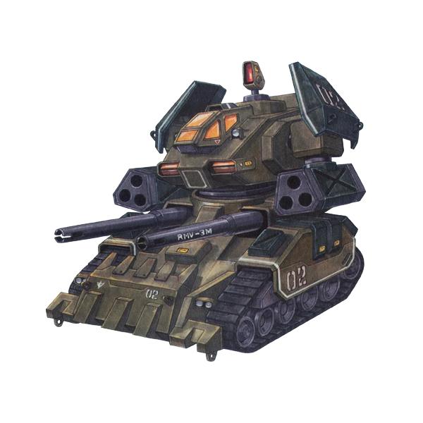 RMV-3M 局地制圧型ガンタンク [Local Control Type Guntank]
