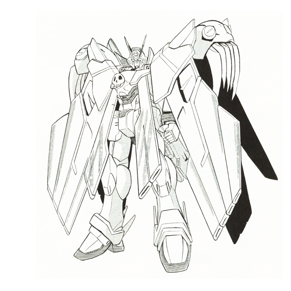 XM-X0 クロスボーン・ガンダムX-0フルクロス