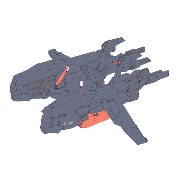 AMX-008M ガ・ゾウムマリンタイプ[ティターンズ残党使用機] [Ga-Zowmn Marine Type]《A.O.Z》