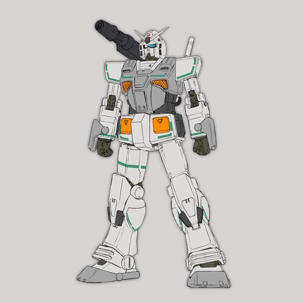 FA-78-2 ヘビーガンダム(ロールアウトカラー) [Heavy Gundam]《THE ORIGIN》
