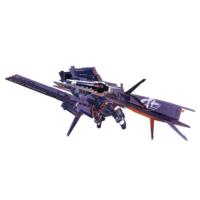 RX-121-1+FF-X29A ガンダムTR-1〈ヘイズル・ラー〉 クルーザー巡航形態