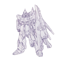 FA-93-ν2HWS Hi-νガンダム(ヘビー・ウェポン・システム装備型) [Hi-ν Gundam Heavy Weapons System Type]
