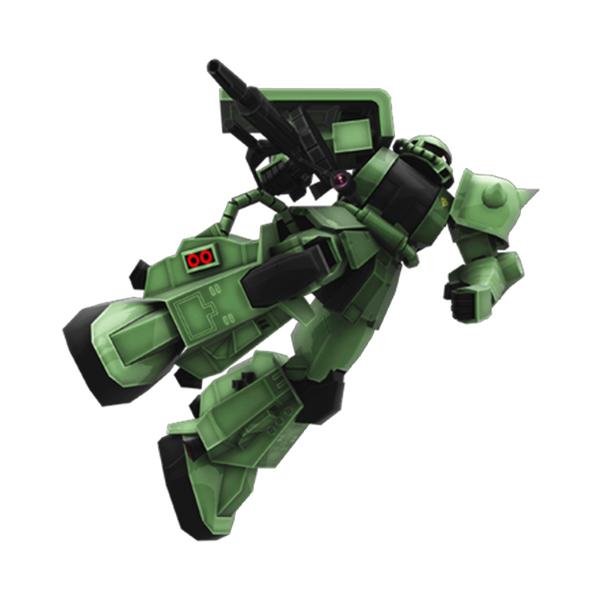 MS-06R-1A 高機動型ザクII 改良型 [Zaku II High Mobility Improved Type]