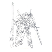 RX-124 ガンダムTR-6〈ハイゼンスレイII・ラーII(第二形態)〉(脚部オプション ガンダムMk-V)