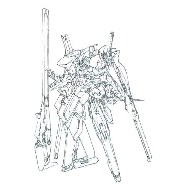RX-124 ガンダムTR-6〈ハイゼンスレイII・ラーII(第二形態)〉