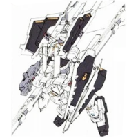 RX-121-1+FF-X29A ガンダムTR-1〈ヘイズル・ラー〉 第二形態