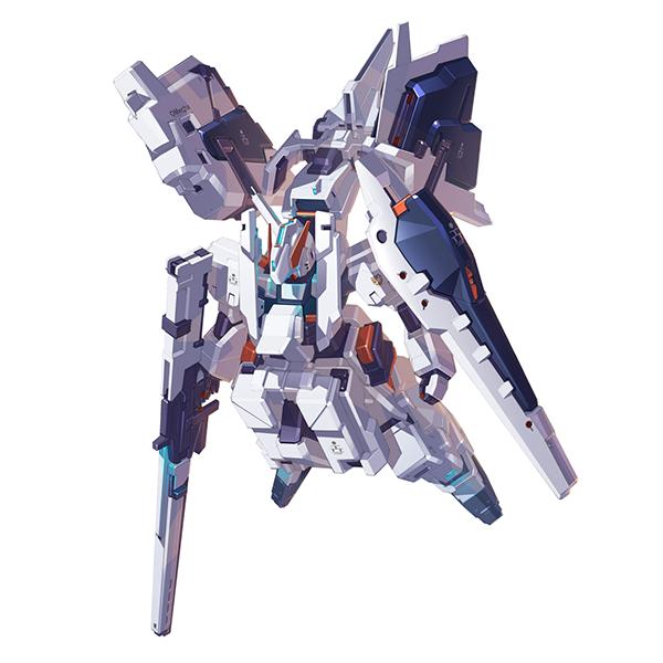 RX-121-1+FF-X29A ガンダムTR-1〈ヘイズル・ラー〉フルアーマー形態