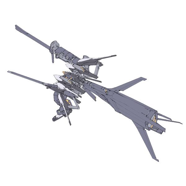 RX-121-3C ガンダムTR-1〈ハイゼンスレイ・ラーII・クルーザー形態〉 [Gundam TR-1 (Hyzenthlay-Rah II)]