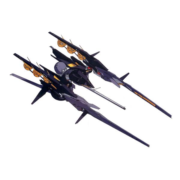 RX-124 ガンダムTR-6〈インレ〉 巡航形態  [Gundam TR-6 (Inle) Cruise form]《A.O.Z》