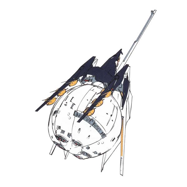 RX-124 ガンダムTR-6〈インレ〉 大気圏離脱形態  [Gundam TR-6 (Inle) Atmospheric Escape Form]《A.O.Z》