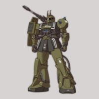 MS-06K ザク・キャノン《THE ORIGIN》