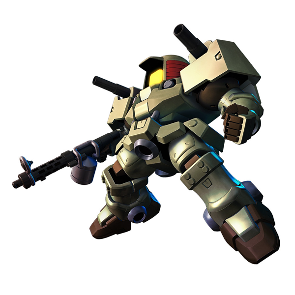OZ-06MS リーオー キャノンタイプ [Leo Cannon Type]