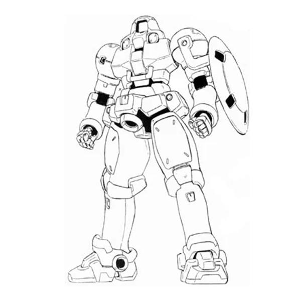 OZ-06MS リーオー(シールド装備型) [Leo Shield Type]
