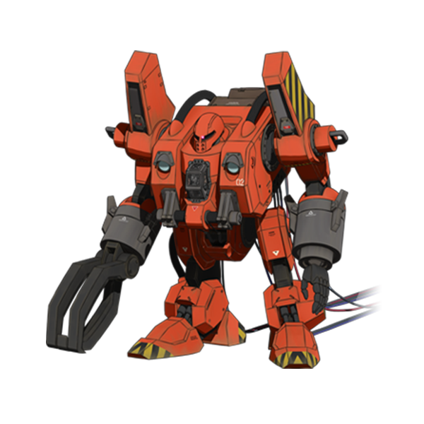 MW-01 モビルワーカー 01式 (後期型)[マッシュ機] 《THE ORIGIN》