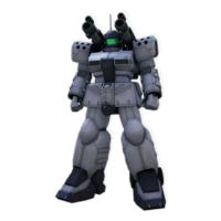 "RX-77D 量産型ガンキャノン[ホワイト・ディンゴ隊仕様機][Guncannon Mass Production Type ""White Dingo Custom""]"