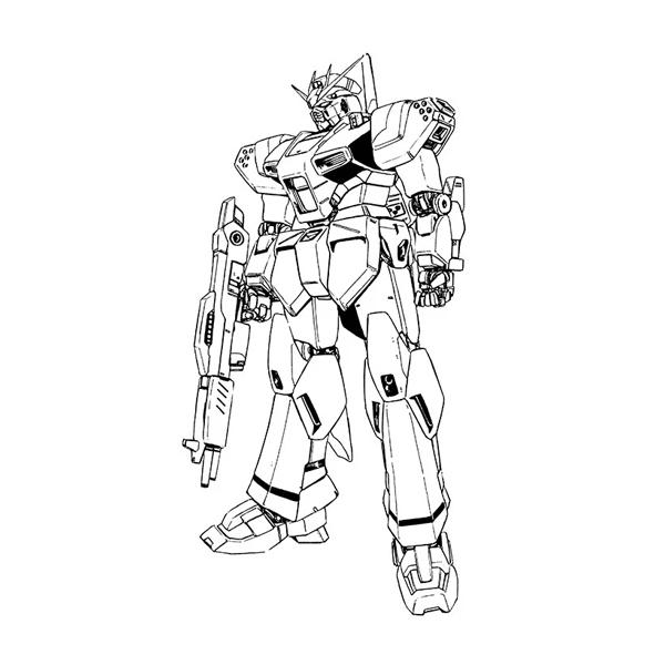 YRA-90A μガンダム(ミューガンダム) [μ Gundam]