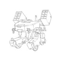 TK-53 CGSモビルワーカー(ミサイルポッド装備型)