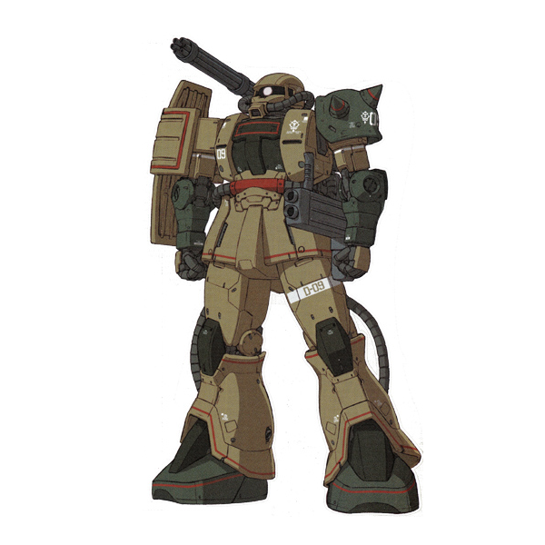 MS-06JK ザク・ハーフキャノン [Zaku Half Cannon]《THE ORIGIN》