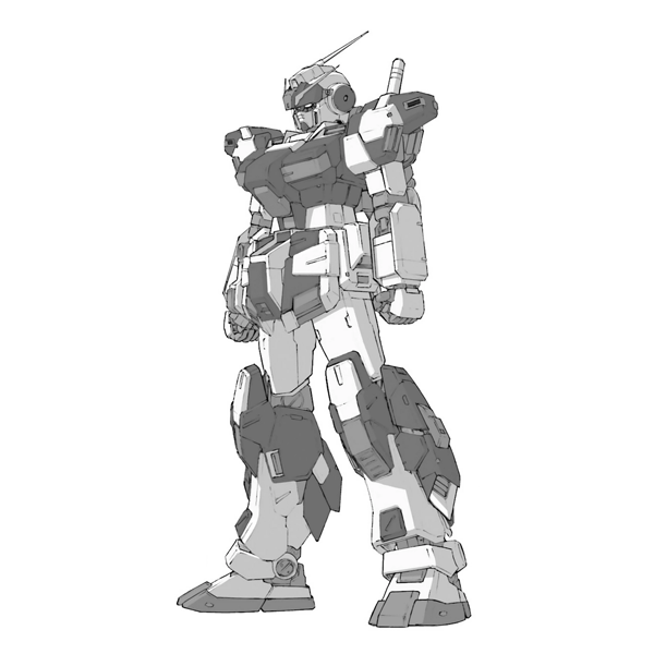 RX-80PR2 ペイルライダー・キャバルリー [Pale Rider Cavalry]