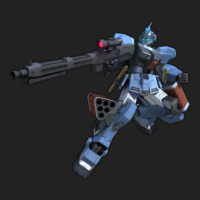 RX-80PR ペイルライダー[ヴィンセント・グライスナー機] [Pale Rider Vincent Gleissner Custom]