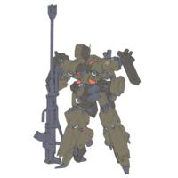AMX-014R リーベン・ヴォルフ(指揮官機) [Reben-wolf Commander Type]
