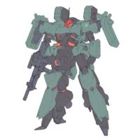 AMX-014R リーベン・ヴォルフ(スペース・ウルフ隊仕様機) [Reben-wolf Commander Type Space Wolf Custom]