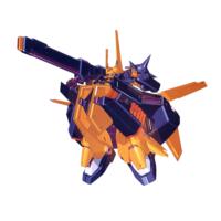 RX-107〈ロゼット〉 強化陸戦形態(試作プラン) [Rosette Enhanced Land Battle Form (Prototype)]