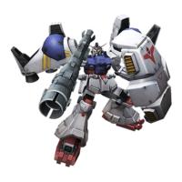 RX-78GP02BB ガンダム試作2号機(ビーム・バズーカ仕様)