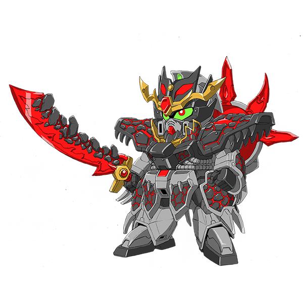 董卓プロヴィデンスガンダム [Dong Zhuo Providence Gundam]