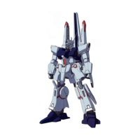 ARX-014P シルヴァ・バレト(ファンネル試験型) [Silver Bullet (Funnel Test Type)]