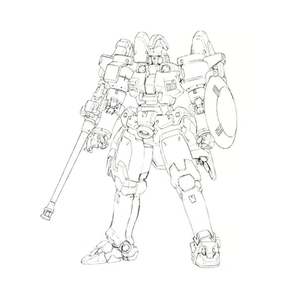 OZ-00MS トールギス [Tallgeese](Endless Waltz版)