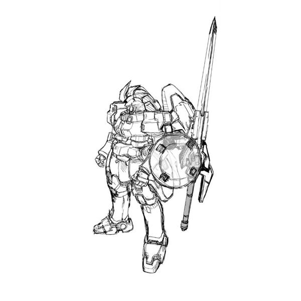 OZ-00MS2 トールギスII ヒートサーベル装備(Endless Waltz版)