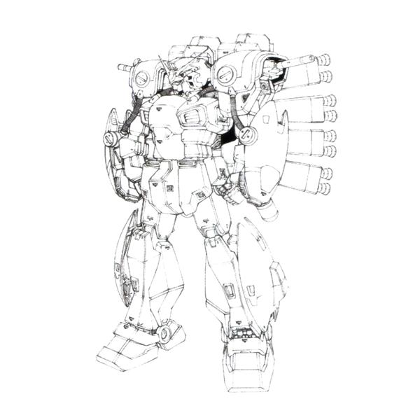RX-78AN-01FA ガンダム・トリスタン〈フェイルノート〉 [Gundam Tristan 〈Failnaught〉]