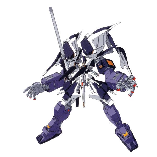 RX-124 ガンダムTR-6〈ウーンドウォート〉ギガンティック形態 [Gundam TR-6 (Woundwort) Gigantic Form]