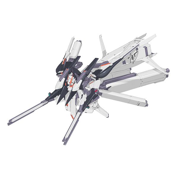 RX-124 ガンダムTR-6〈ウーンドウォート・ラー〉クルーザー巡航形態 [Gundam TR-6 (Woundwort-Rah) Cruiser Mode]