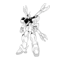 XM-X13 クロスボーン・ガンダムX-13 [Crossbone Gundam X-13]