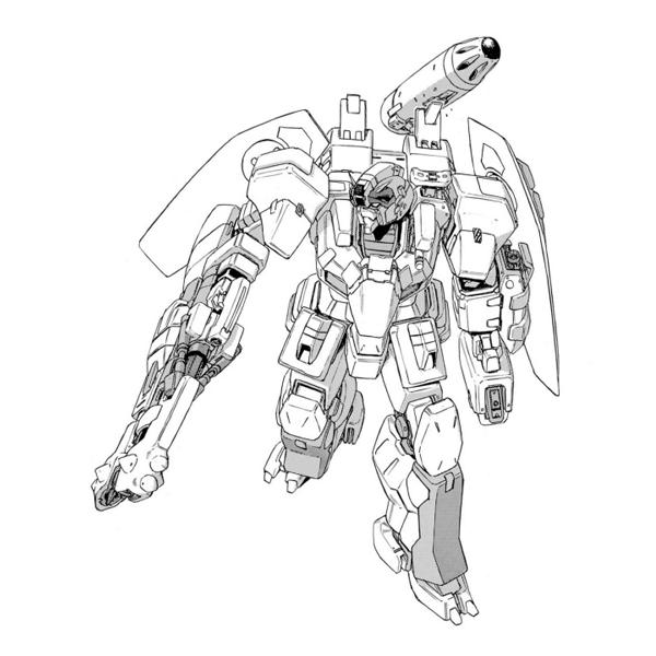 RX-79EX ゼファーガンダム(フォームIII)