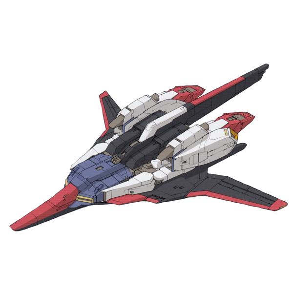 MSZ-006 ゼータガンダム ウェイブシューター装備型 [Zeta Gundam (Wave Shooter Equipment Type)]